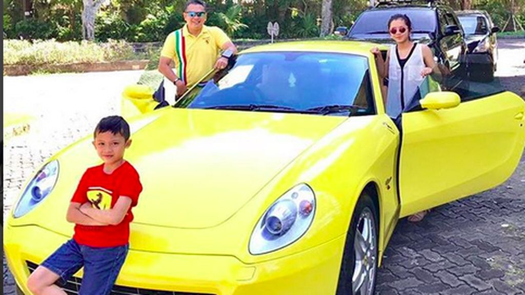 Anak Bamsoet Ikut-ikutan Hobi Mobil