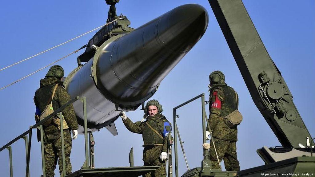 Rusia Pamer Sistem Pertahanan Udara