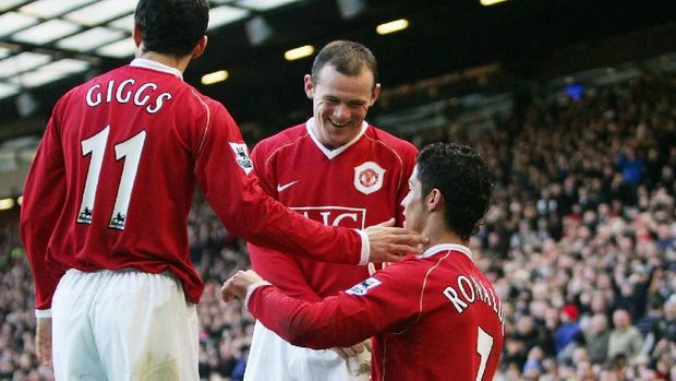 Manchester United punya peran besar di balik perkembangan karier Cristiano Ronaldo.