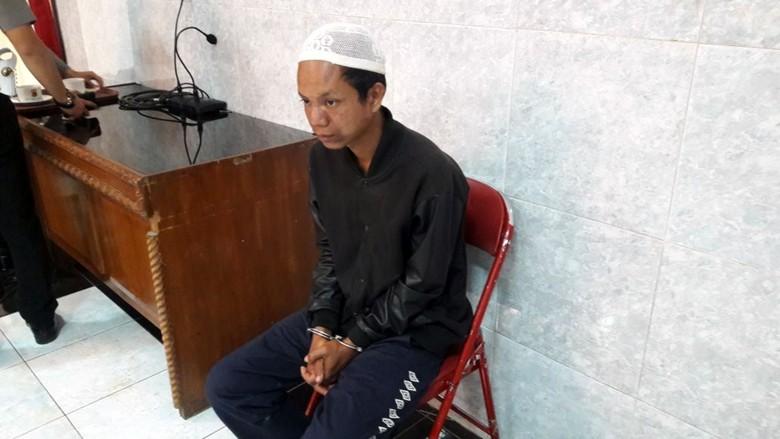 Bikin Panik Santri, Pria Gila Ini Dititipkan ke Dinsos Sukabumi