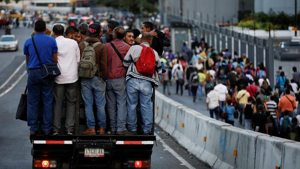 Krisis Venezuela Lebih Parah dari Krismon 1998