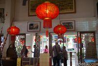 Suasana aksen Chinese yang unik (Shinta/detikTravel)