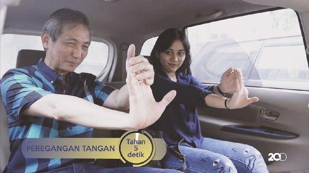 5 Olahraga yang Bisa Dilakukan Saat Terjebak Macet di Mobil