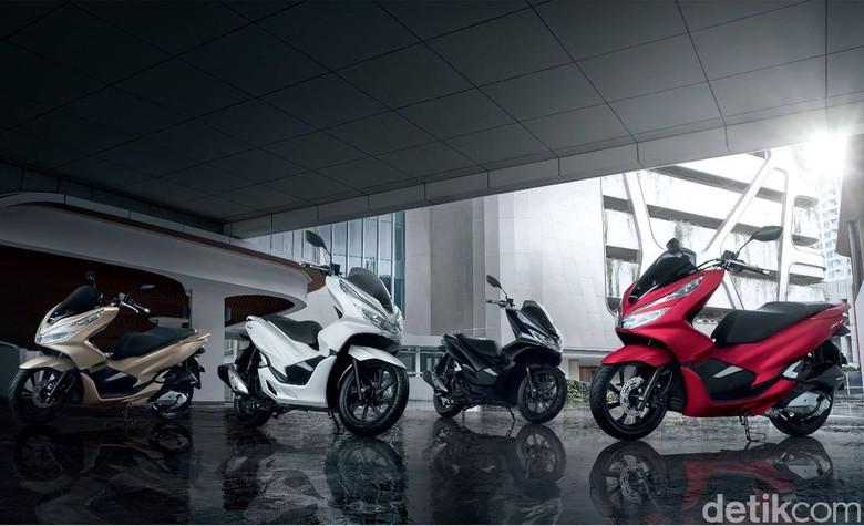 Honda PCX buatan Indonesia. Foto: Astra Honda Motor