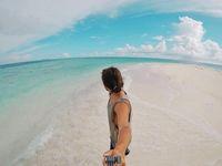 Febrian di Maldives (_febrian/Instagram)