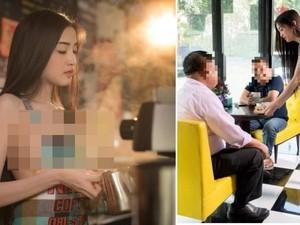 Waduh! Pemilik Kafe Ini Terancam Dipenjara karena Bikin Iklan dengan Model Nyaris Telanjang
