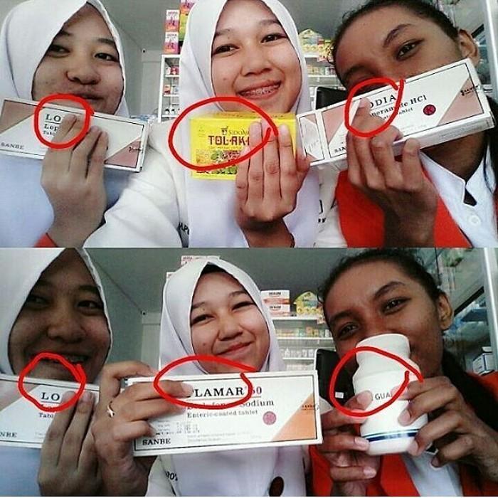 Kita semua tahu orang Indonesia suka bercanda dan mempunyai sense of humor yang tinggi. Foto: Instagram