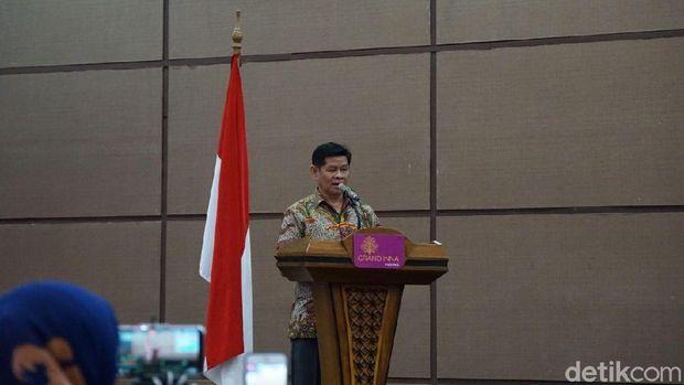 Pembacaan 12 poin komitmen Sumatera Barat oleh Ketua Dewan PWI (Syanti/detikTravel)