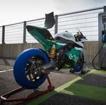 Motor Listrik MotoGP Terbakar Secara Misterius