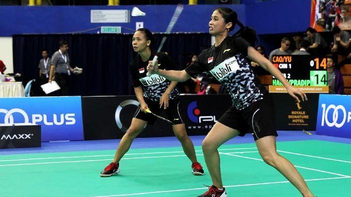 Della Destiara Haris/Rizki Amelia Pradipta menjadi penentu kemenangan Indonesia atas China (Foto: dok. Humas PBSI)