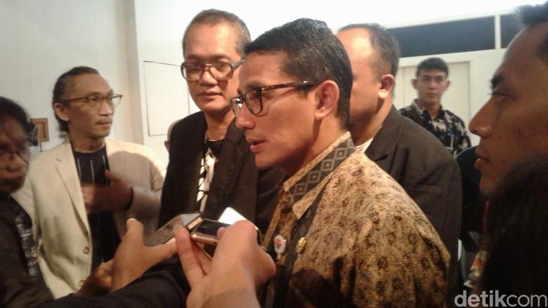 Sandi Sudah Dialog dengan Kementerian PUPR soal Sodetan Ciliwung