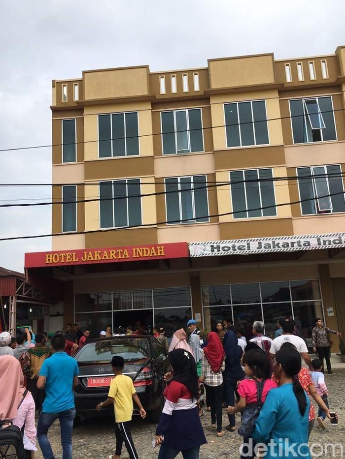 Foto Hotel Rp 450 Ribu Malam Tempat Jokowi Nginap Di Dharmasraya