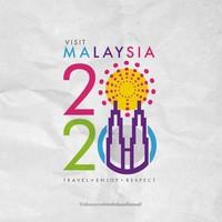 Foto: Desain simpel lain juga diajukan untuk mengganti logo Visit Malaysia 2020 yang dibully netizen di dunia maya. Keren sih! (Instagram/@idiazismailmohdzaidiismail)