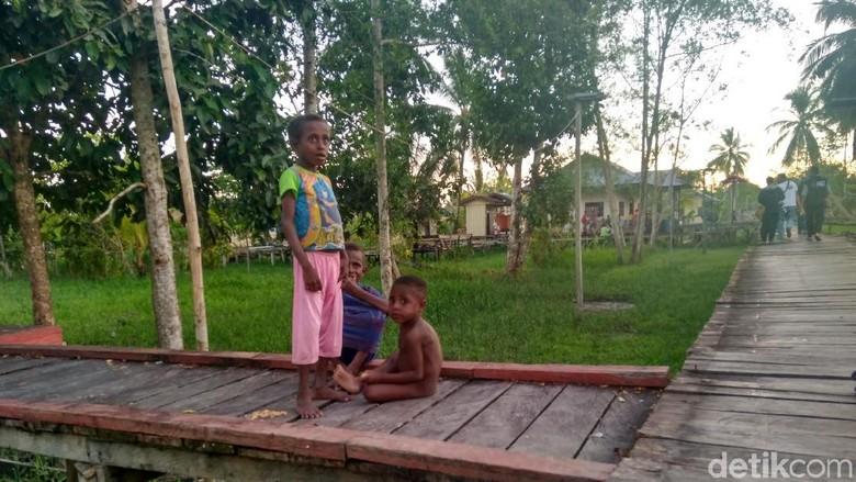 Potret Terkini Anak-anak di Asmat