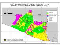 Puncak Hujan Februari Wilayah Rawan Longsor Pulau Jawa Lihat Peta