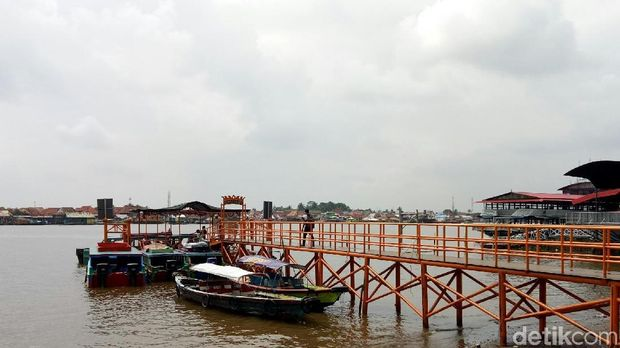 Ingin Sriwijaya Berjaya, 3 Dermaga Wisata Dibangun di Palembang