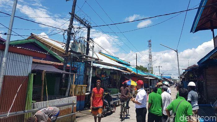 Kondisi kelistrikan di Kabupaten Asmat/Foto: Wilpret Siagian/detikcom