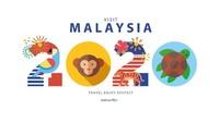 Foto: Netizen Malaysia gatal ingin mengganti logo Visit Malaysia 2020 yang mereka anggap sangat tidak representatif. Contohnya karya arsitek bernama Atira Ariffyn ini. Atira cuma butuh 30-40 menit mendesain logo keren ini. (Facebook/Atira Ariffyn)