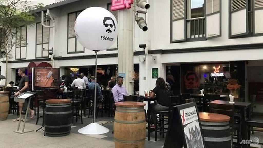Restoran di Singapura Pakai Nama Escobar, Kolombia Protes Keras