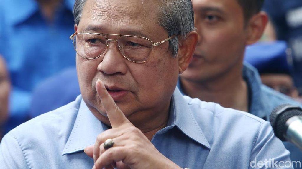 Ada Jadwal di Luar Kota, SBY Absen di Sidang Tahunan MPR-DPR