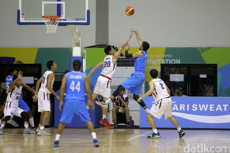Tim Basket Putra Thailand Kalahkan India