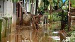 Banjir Surut, Begini Suasana Terkini di Kawasan Kampung Arus