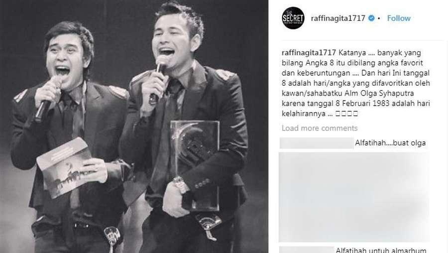 Olga Syahputra Ulang Tahun, Ini Ucapan Raffi Ahmad dan Jessica Iskandar