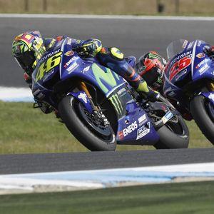 MotoGP Valencia: Duel Rossi Vs Vinales Perebutkan Peringkat Tiga