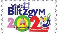 Foto: Bahkan ada yang memodifikasi logo Visit Malaysia 2020 ini jadi logo promosi sebuah tempat fitness. Meski dapat banyak kritikan, sampai petisi untuk mengubah logo tersebut. Pemerintah Malaysia mengaku tidak ada rencana untuk mengganti logo jelek itu. (Instagram/@blitzgym)