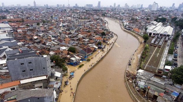 Pembenahan Banjir di Jakarta Tersendat Janji Politik Anies
