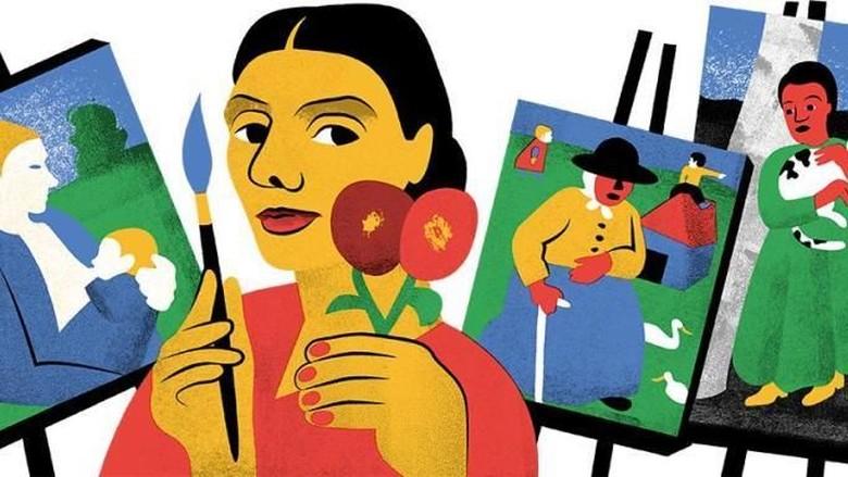Paula Modersohn-Becker, Pelukis Perempuan Pertama yang Melukis Dirinya Bugil Foto: Google Doodle