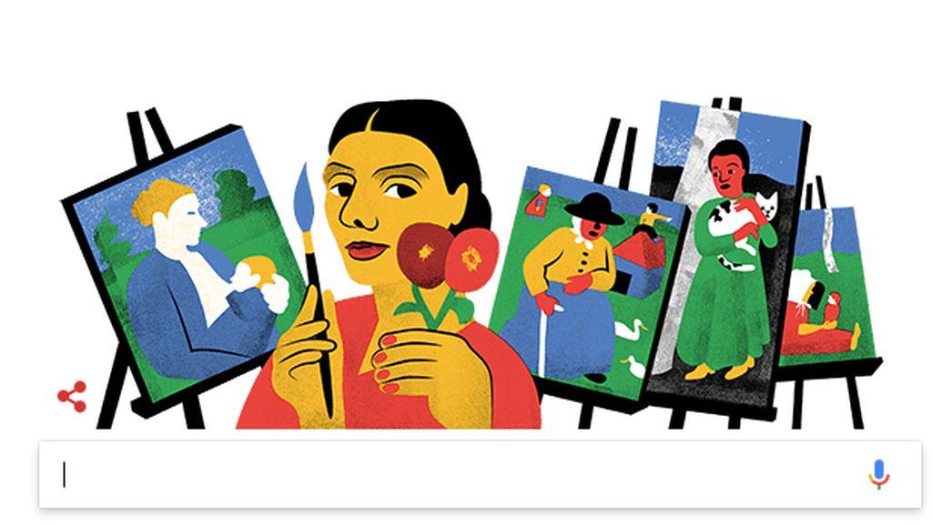 Google Doodle Tampilkan Pelopor Lukisan Bugil