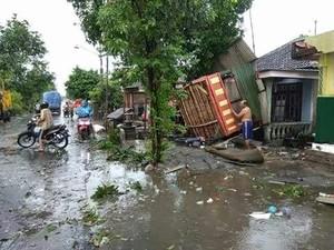 Angin Kencang Porak Porandakan 16 Rumah di Mojokerto