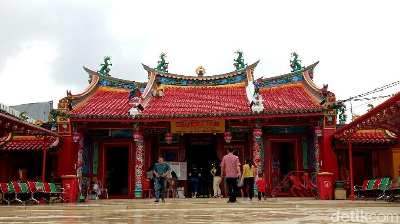 Kelenteng Dewi Kwan Im Chandra Nadi Palembang (Raja Adil/detikTravel)