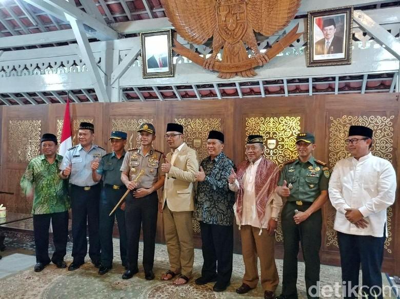 Camat dan Linmas di Bandung Diperintahkan Silaturahmi dengan Ulama