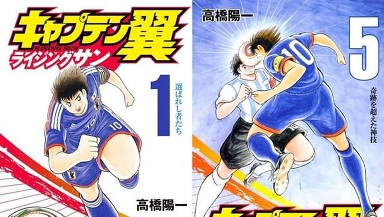 Manga Spinoff Captain Tsubasa Ceritakan Tahun-tahun Sekolah Dasar Tsubasa