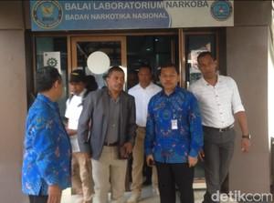BNN Uji Sampel Diduga Bahan Baku Pil PCC Asal Timor Leste
