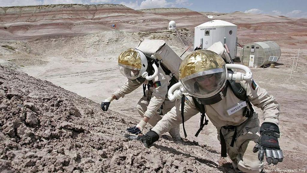 Ada Riset Misi Penerbangan ke Mars di Gurun Dhofar Oman