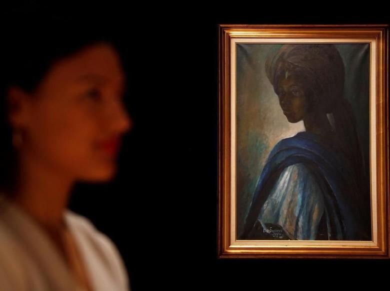 Sempat Jadi Kontroversi, Lukisan Mona Lisa Afrika Akhirnya Dipajang