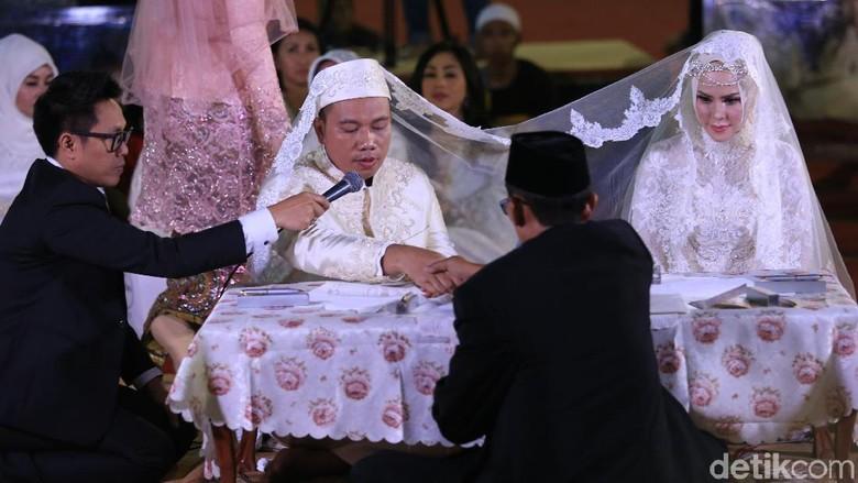 Mahar Pernikahan Vicky Prasetyo dan Angel Lelga Dicurigai Utang