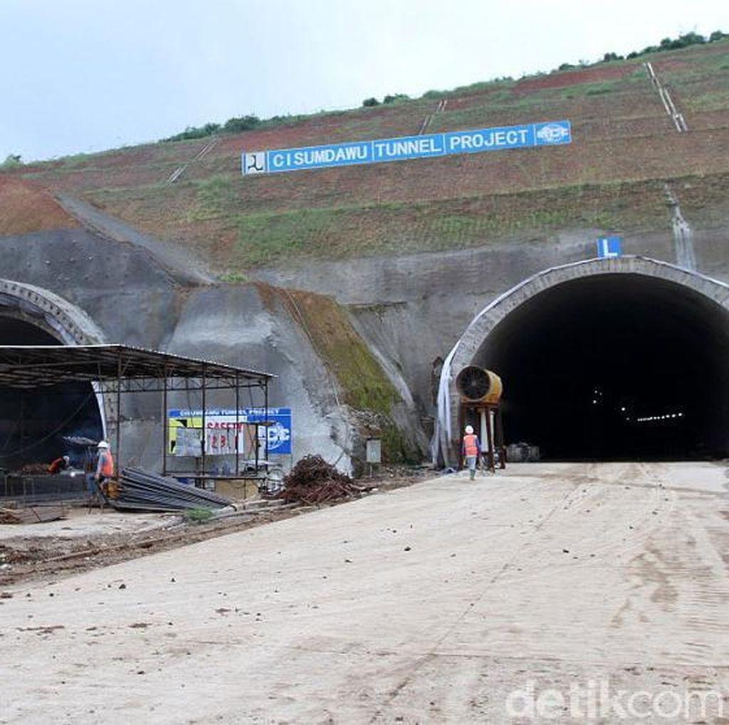 Terowongan Tol Cisumdawu Belum Bisa Dipakai Mudik, Ini Alasannya