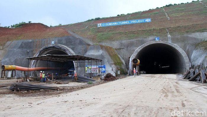 Terowongan tol Cisumdawu/Foto: Wisma Putra
