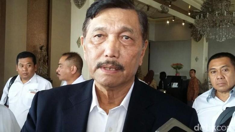 Luhut Ogah Komentar Soal Ratna Sarumpaet: Saya Capek