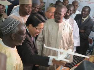 Pesawat CN-235 Hingga Mi Instan RI Mejeng di Senegal