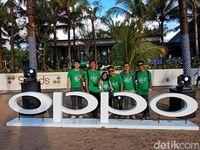 dTraveler jalan-jalan keliling Bali pakai OPPO F5 yang baru (Ahmad Masaul/detikTravel)