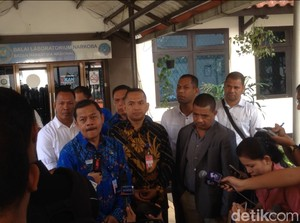 BNN Uji Coba Sampel Diduga Bahan Baku Pil PCC dari Timor Leste