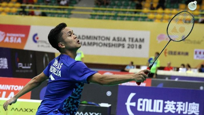 Anthony Sinisuka Ginting (Tim Humas Dan Media PP PBSI)