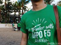 Rasanya Pakai OPPO F5 yang Baru Buat Traveling
