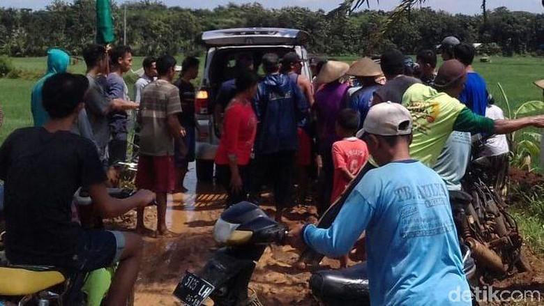 Ngatimah Ditemukan Tewas di Tengah Sawah yang Banjir di Pati