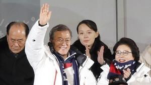 Langka! Foto-foto Presiden Korsel Muncul di Media Resmi Korut
